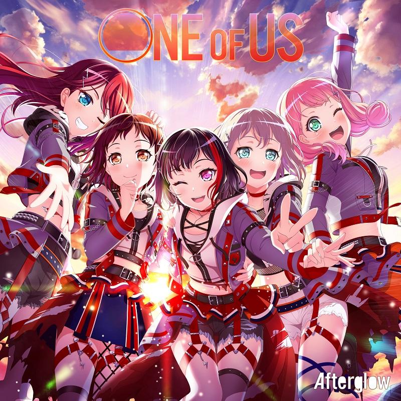 『バンドリ!』よりAfterglow 1st Album「ONE OF US」発売開始!